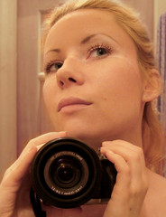(Anastassiya Bergem) Tags: camera portrait me face self eyes  inthemirror     explored