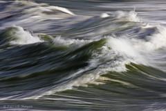 avis de tempete. (Patrick Mayon) Tags: ocean sea mer portugal canon coast movement wave rough panning vagues bouillon mouvement atlantique ocan remous ef70300mmf456isusm eos40d