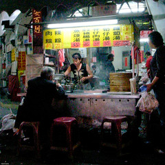 dinning alone (YENTHEN) Tags: alone taiwan streetphotography lonely taipei yenthen