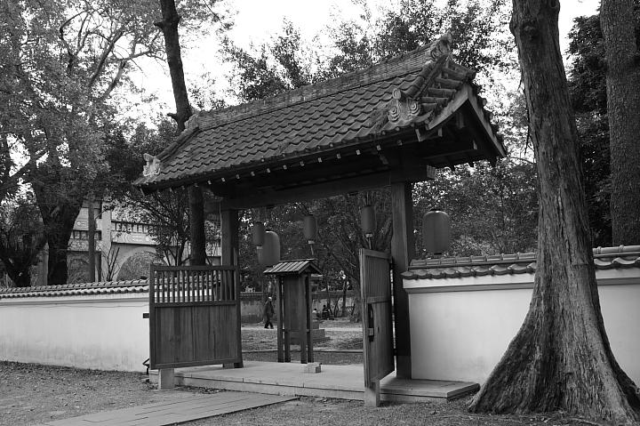 嘉義市史蹟資料館(黑白)25