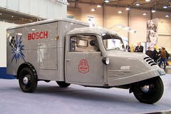 1949 Goliath GD 750 (Georg Schwalbach (GS1311)) Tags: pictures auto classic cars car truck three photo essen automobile foto fotografie panel image photos wheels picture utility mobil images voiture photographs photograph coche fotos type carro delivery vehicle oldtimer wheeler autos van goliath messe  gd bilder bosch transporter depoca lieferwagen deliverytruck borgward clssico autofoto threewheeler 750 dienst classique clsico automobil  dreirad  samochd autofotos klasik  commercialvehicle klassieke fotografien autofotografie    klasyczny boschdienst lightdeliverytruck