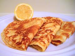 pancake lemonsugar
