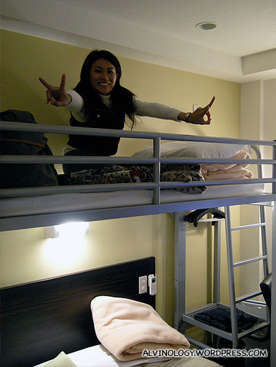 Double-decker beds