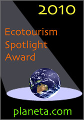 ecotourism spotlight award 2010