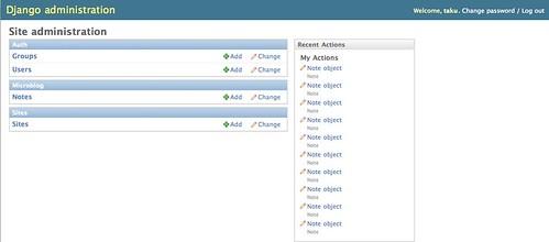 Site administration | Django site admin