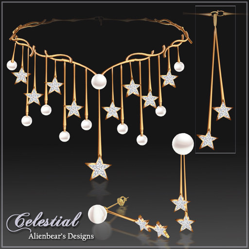 Celestial set gold new