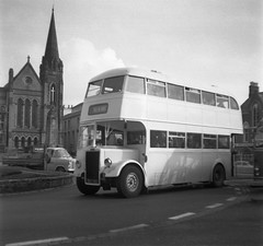 Whiteways PD1 - Caernarfon. (Renown) Tags: buses titan coaches doubledecker leyland caernarfon northwales whiteways waunfawr pd1 warringtoncorporation municipalbuses welshbuses independentbuses ded797