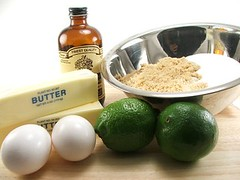 White Chocolate Lime Cookies Fixins, Pt. 1