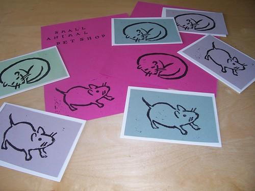 Lino Printing frenzy