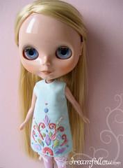 embroidered Blythe dress