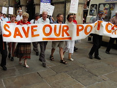 Save our Post Office March (JonTandy) Tags: our march office jon shropshire post mail rally protest royal save shrewsbury tandy saveourpostoffice