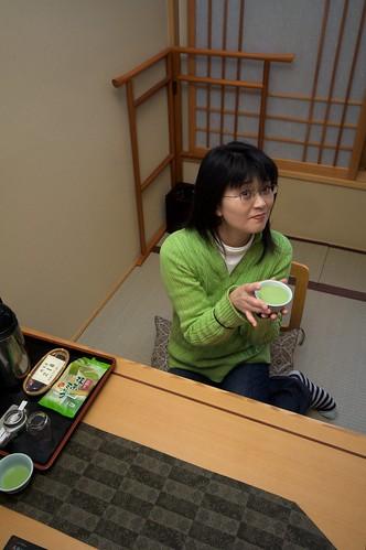 Akira in a Japanese Ryokan (by jasohill)