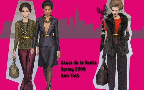 Oscar de la Renta Runway New York Fashion Week