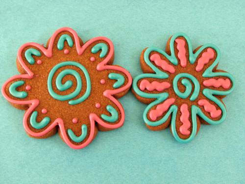 Funky Flower Sugar Cookies