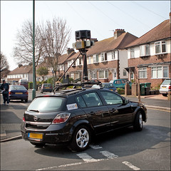 The Google Man Cometh to Hove (Geoff Penn) Tags: street camera city england car french hardware google europe view hove maps laser plates 75 630 astra streetview opel rfk googlenetta rfk75 630rfk75