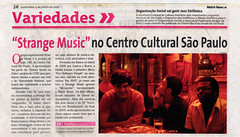 MetroNews 15.01.2009 por Strange Music