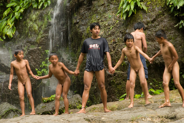 skinny dipping kids