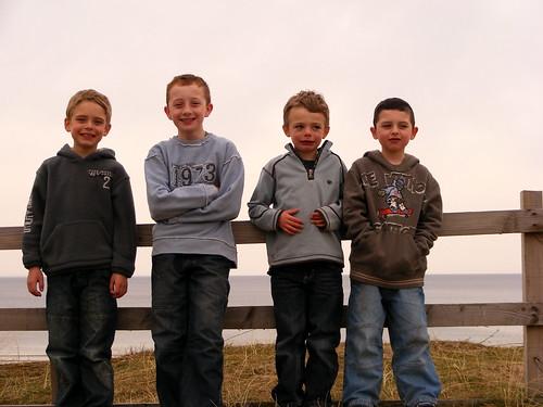Calum, Ben, Ewan & Jack