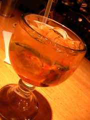 first mojito (Michelle-小米變身大米中) Tags: strawberry applebees mojito cg65
