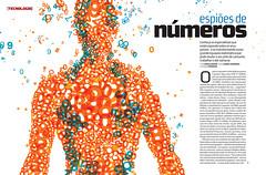 Espiões de números (Gabriel Gianordoli) Tags: illustration magazine design numbers spy editorial numerati