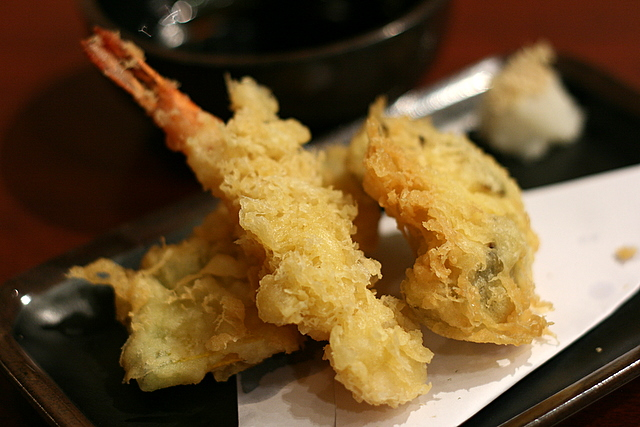 Tempura (part of udon set)