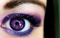 Oh hai (Lady Pandacat) Tags: pink portrait macro reflection eye glitter self eyes shiny colorful purple bright shimmery urbandecay makeup vivid mexican yeartwo hispanic latina lust 2009 makeupforever metalhead catchlight fantabulous catchycolorspurple pandacat canong9 pandacatbaby tinaangel purple92 wwwcoastalscentscom coastalscents88shimmerpalette yeahiknowimpale heavymetalglitterliner makeupmacro coastalscentspalette ladypandacatvonnopants