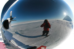 Reflection (Jonathan Delisle) Tags: canada reflection self arctic sp nunavut wardhuntisland