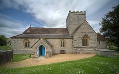 St. Mary's Church, Winterborne Whitechurch, Dorset (johnelamper) Tags: uk england english church parish exterior britain victorian sigma dorset hdr 1224 ioe photomatix gradeilistedbuilding ferrey 103584 winterbornewhitechurch