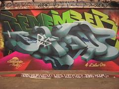 LovePusher (JOHN19701970) Tags: street england streetart london art love wall graffiti 3d paint remember graf jesus tunnel southbank waterloo spraypaint graff lambeth pusher anik rememberjesus 2much 3dgraffiti lovepusher leakestreet 4dolarone