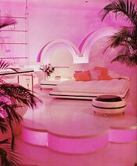 Xanadu room, Bloomingdales by Barbara D'arcy (ouno design) Tags: 1960s bloomingdales 1970s decor thebloomingdalesbookofhomedecorating1973 barbaradarcy interiordesignroomdesignretromod60s70s spaceagemodernpsychedelicstoreshopdisplayrooms