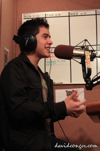 david archuleta at kiss fm seattle davidconger