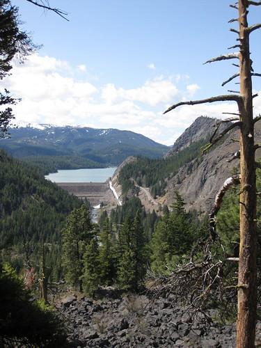View of Rimrock Lake