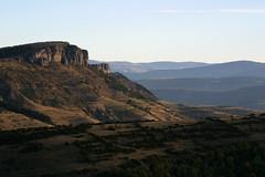 Sur la route de Meyrueis en Lozère (Cévennes)