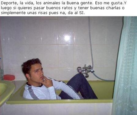 Pensando en la bañera