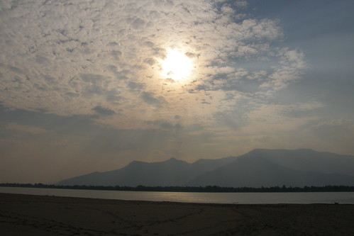 146.Don Daeng島上湄公河的日落 (2)