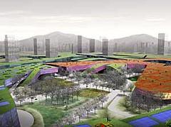 garden design for a new city in South Korea (by: Balmori Associates)