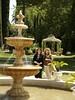 front yard (Rawbert A. Wagner) Tags: california wedding fountain hotel michelle delta waters sacramento mansion debbie grandislandmansion rawbertawagner
