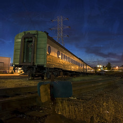 Please, Stop The Train (Jon Asay ) Tags: railroad night oregon train portland track guesswherepdx guessedpdx    infinestyle