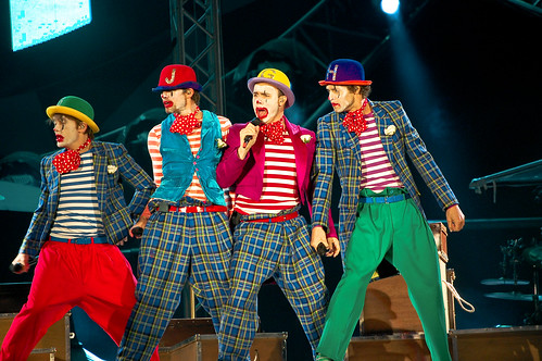 Take That Friday Night Opening of the Circus Tour