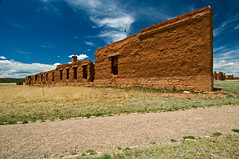 Fort-Union-Wall (Glen's Pics) Tags: newmexico southwest history landscapes 100views superwideangle santafetrail glenspics vanetten goldenspread fortunionnm 1224superwideangle