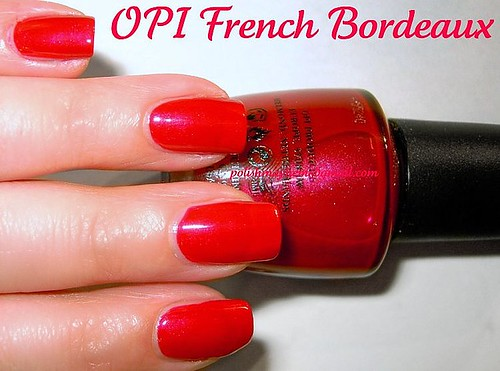 OPI French Bordeaux
