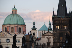 Prague Rooftops (susani2008) Tags: rooftops prague statues