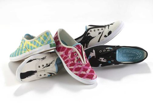 Organic Keds designed by Loomstate