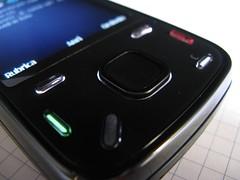 Nokia N86 - keypad