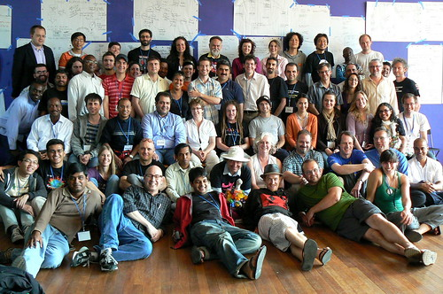 OTT09 group photo, tired but happy, image courtesy of itzpapalotl