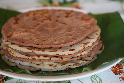 Rice Flour Pancakes/Mumbri