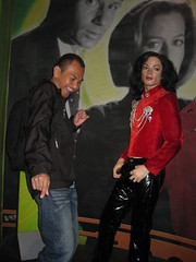 MJ & me@Madame Tussauds,NYC