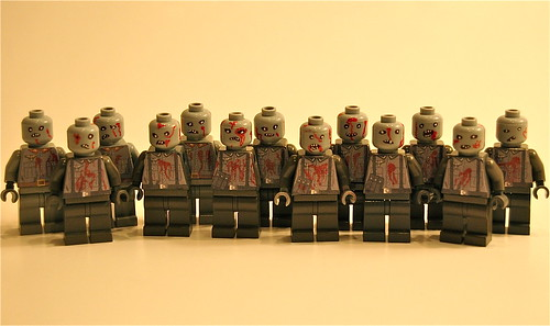 Nazi Zombies custom minfigs