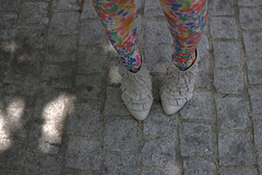 051 (Ooh Fancy That) Tags: california city trees friends people usa brick nature floral sunshine fashion female portraits buildings walking asian fun gold spring women scenery shoes colorful downtown purple style tights historic looks laughter orangecounty santaana breeze booties lookbook clearskies oohfancythat