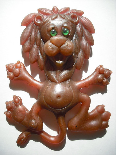 1967 bel art lion oily jiggler